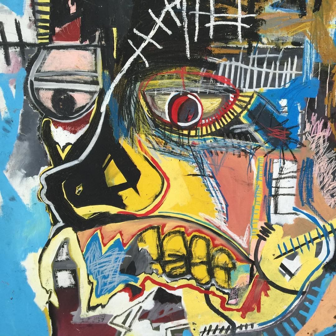 Basquiat at The Broad