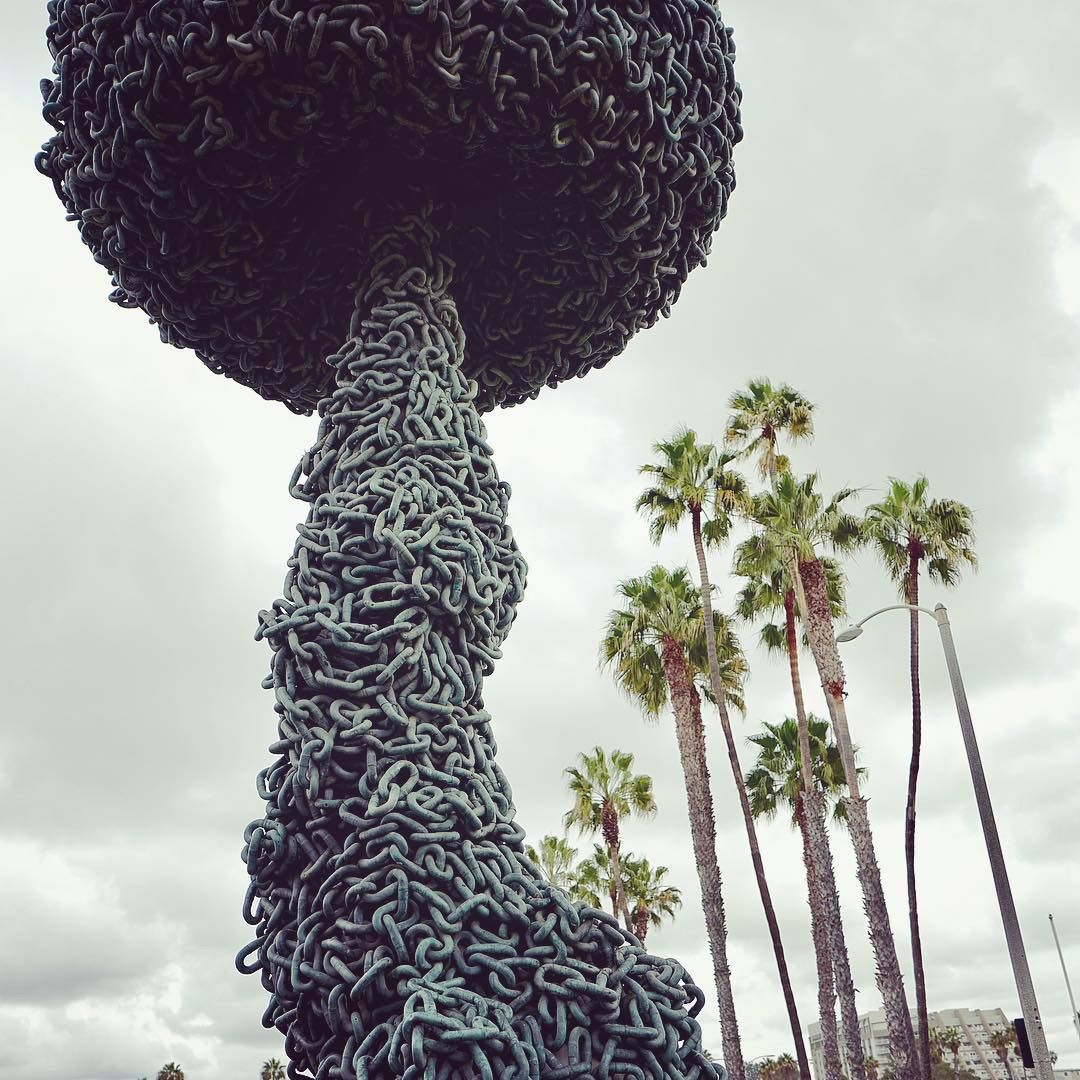 Sculpture in Santa Monica